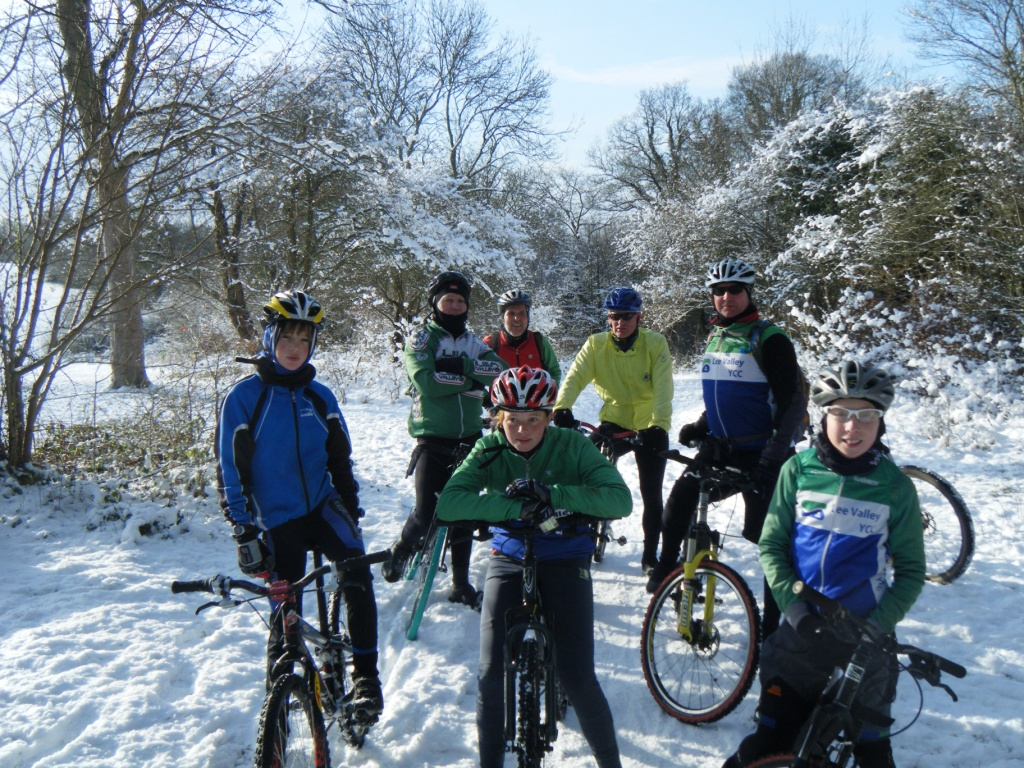 Riding in Epping Forest - Sat 9th Jan 2010